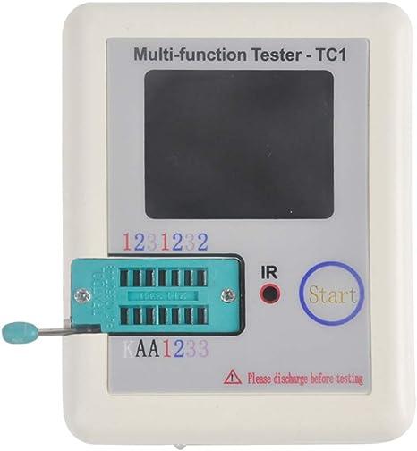 Gezichta Multifunktions Tester 3 5 Zoll Bunte Anzeige Pocketable Tft Hintergrundbeleuchtung Transistor Lcr Tc1 Tester Für Dioden Triodenkondensator Widerstand Transistor Lcr Esr Npn Pnp Mosfet Lw21 Küche Haushalt