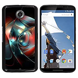 Be Good Phone Accessory // Dura Cáscara cubierta Protectora Caso Carcasa Funda de Protección para Motorola NEXUS 6 / X / Moto X Pro // Abstract