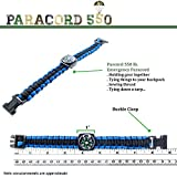 Compass Paracord Bracelet Set for Men Teen Boys 6