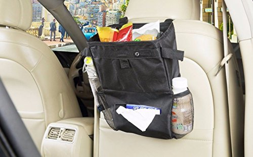Car Auto Seat Back Multi-Pockets Trash Storage Holder Bag Organizer Tool