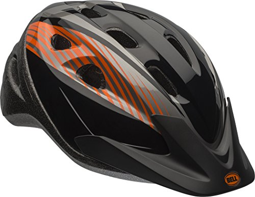Richter Youth Helmet, Black & Orange Rooster