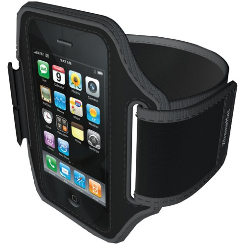 Imation Sportwrap Armband Case for iPod touch 2G, 3G; iPhone 3G, 3Gs (Black)