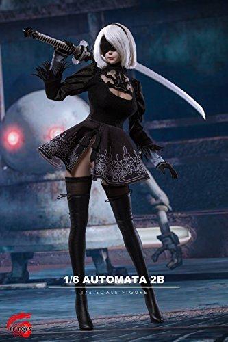 Cosplay Series TF01 1/6 scale Nier automata 2B sexy cyborg costume set