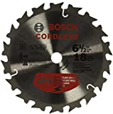 Bosch CBCL618A 6-1/2 In. 18 Tooth Circular Saw Blade for Cordless Saw
