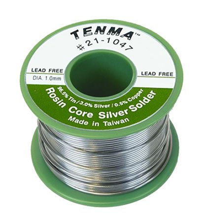 tenma-21-1047-lead-free-rosin-core-solder-tin-silver-copper-6oz