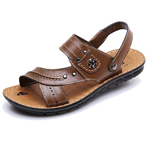 Mens Fashion Coffee Cool Fashion Sandels Cool Skidproof Sandals Mens Keplia Summer Keplia xCqawCZ6