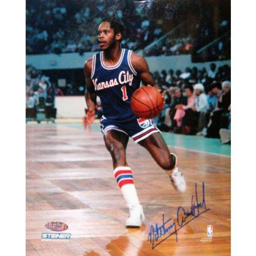 - NBA Boston Celtics Nate Archibald Kansas City Kings Goes Up Court Against Signed Photograph, 8x10-Inch
