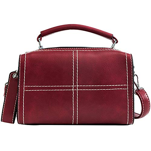 Ladies Casual En Rouge Sanfashion Nylon Dos Cloth Sacs Main À Oxford Sac Femme YvwnvTFPq