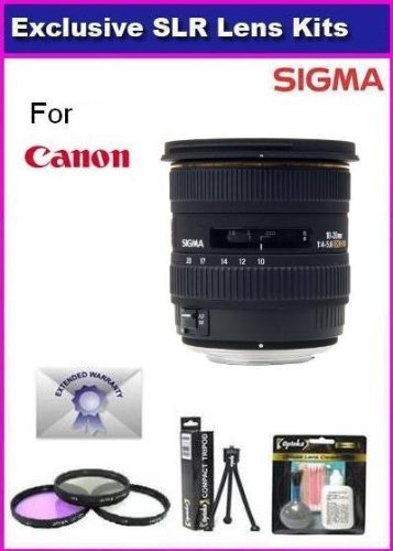 Sigma 10-20mm F4-5.6 EX DC HSM Wide Angle Lens for Nikon - 5
