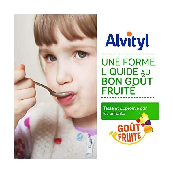 Alvityl Défenses Sirop, goût tutti frutti – Échinacées, Propolis, Vit. C & D – Dès 3 ans – 240 ml