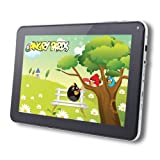 AGPtek® 9 inch Android 4.0 Capacitive Touch Screen Tablet PC for E-reading/3D Game/1080P HD (Black/White, Wi-Fi G-sensor, Front Camera, 1.2GHz, 512MB DDR3, 8GB Built-in Capacity), Best Gadgets