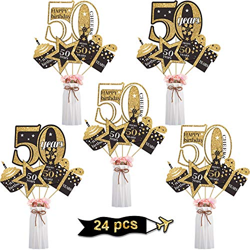Blulu Birthday Decoration Centerpiece Supplies product image