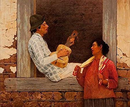 El Museo de salida - Almeida Junior - Reproductor de la guitarra ...