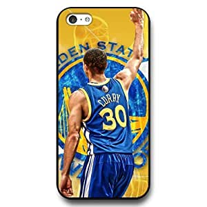 UniqueBox - Customized Personalized Black Hard Plastic iPhone 5c Case, NBA Golden State Warriors Superstar Stephen Curry iPhone 5C case, Only Fit iPhone 5C Case hjbrhga1544