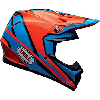 Bell Moto-9 Unisex-Adult Off Road Helmet (Spark Orange, Large)
