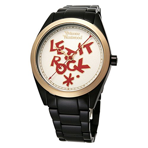 Vivienne Westwood watch VV072GDBK Stpaul, s BKIP white dial Quartz Ladies VV072GDBK [parallel import goods]