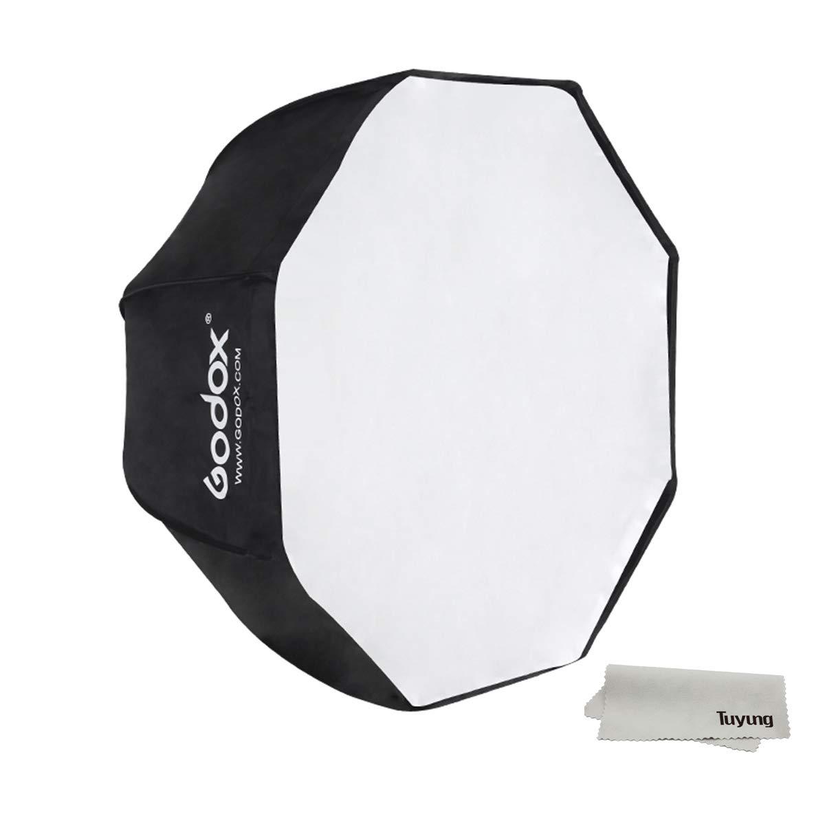 Godox Portable 95cm/37.5'' Umbrella Octagon Softbox Reflector with Carrying Bag for Studio Photo Flash Speedlight by Godox (Image #1)