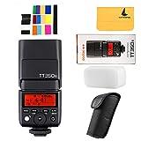 GODOX TT350N 2.4G HSS 1/8000s TTL GN36 Camera Flash Speedlite for Nikon Mirrorless Digital Camera