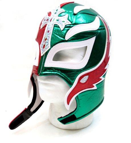 Leos Imports Mexican Luchador Lucha Libre Pro Fit Costume Mask EL Tri (Mexico Mask)