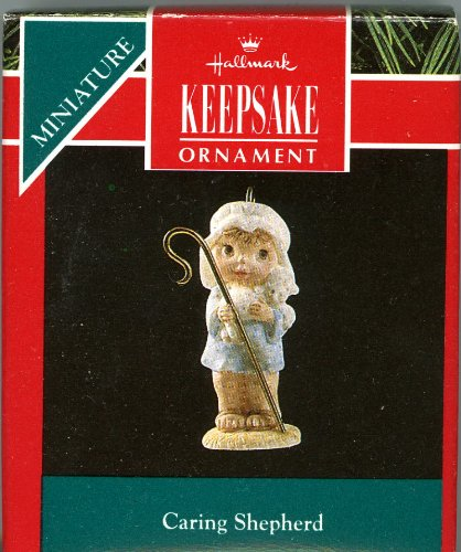 Hallmark Keepsake Ornament - Caring Shepherd 1991 Miniature QXM5949