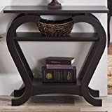 Bloomsbury Market Karina Console Table in Espresso