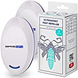 BRISON Ultrasonic Pest Repeller - Repelling Rodents, Mosquitoes, Rats, Mice 2 Pack