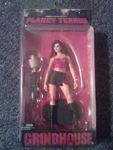 Full Set of Planet Terror Action Figures (Dakota, Cherry, & Tarantino)