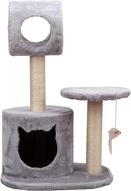 Percha, poste de gato Gato marco de escalada gato arañazo ...