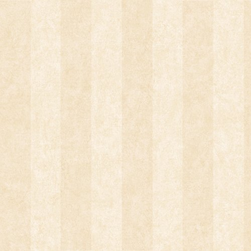 Awning Stripe Wallpaper - Chesapeake MEA71316 Yorkshire Beige Awning Stripe Wallpaper