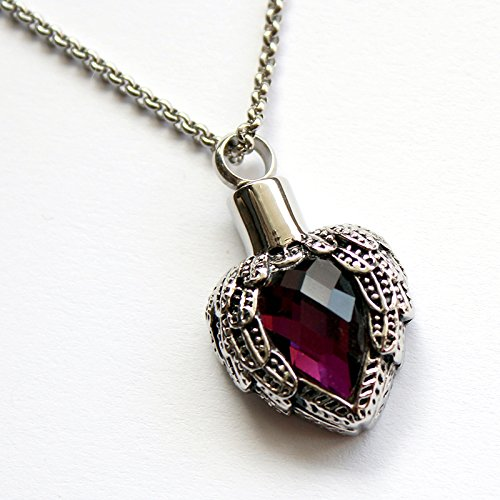 Zahara Memorial Necklace Amethyst Pendant product image