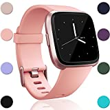 GEAK For Fitbit Versa Bands, Classic Sports Replacement Watch Band for Women and Men Large Small 12 Colors