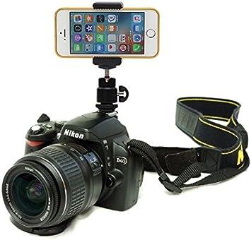 DSLR zapata destello soporte de cámara para iPhone 6 plus/iPhone 6 ...