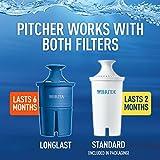 Brita Large 18 Cup UltraMax Water Dispenser and Filter - BPA Free - Black