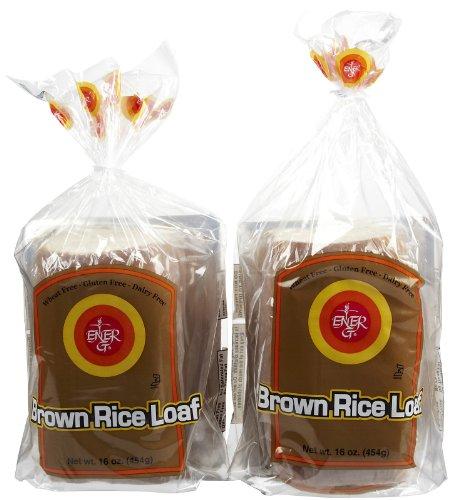 Ener-G Brown Rice Loaf, 16 oz, 2 pk Ener G Foods Gluten Free Bread