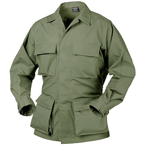 Nyco Ripstop Shirt - Helikon Genuine BDU Shirt Nyco Ripstop Olive size S