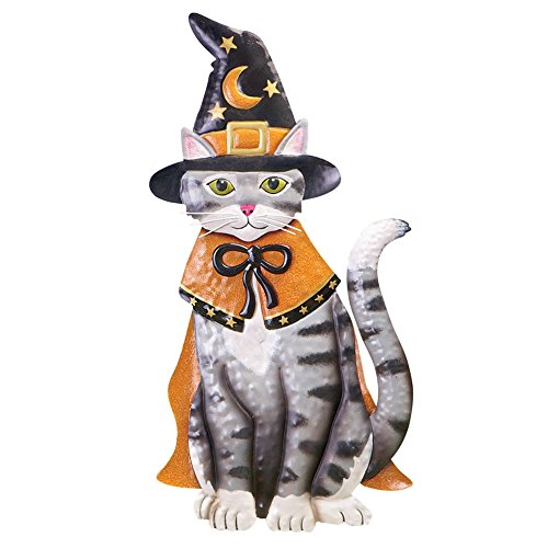 Led Lighted Halloween Animal Yard Stakes, Cat (Halloween Cat Decorations)