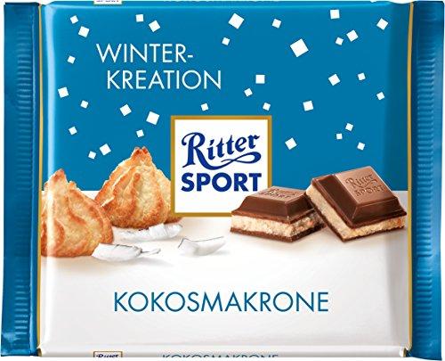 Ritter Sport Kokosmakrone, 12er Pack (12 x 100 g)