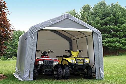 ShelterLogic Replacement Cover Kit 10x10x8 Peak Gray Outdoor Canopies