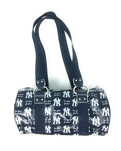 - B for Betsy MLB New York Yankees Lacquered Canvas Tube Bag