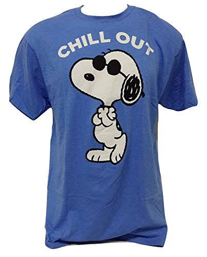 Men's Snoopy Chill Out T-shirt. L, XL, XXL