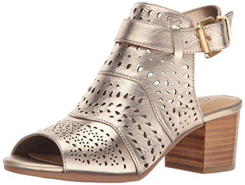Bella Vita Womens Fonda Dress Sandal Champagne