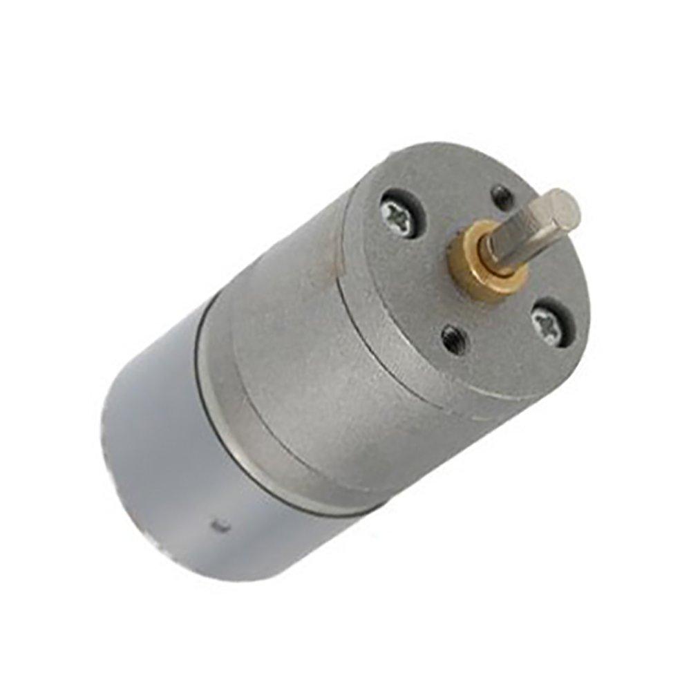 Yohii DC 6V 0.1A 25mm Diameter High Torque Gear Box 30RPM Speed Reducer Motor