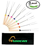 Product review for Aoocan Marshmallow Roasting Sticks, 32-Inch (Roaster Sticks Set of 8)