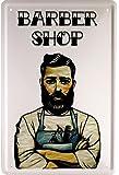 Barber Shop Coiffure 20x 30cm plaque de 1637