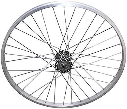 """24/"""" 36 Spoke Trike Alloy Wheel Silver."""