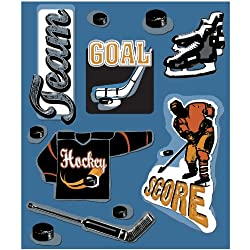 K&company Hockey Sticker Medley