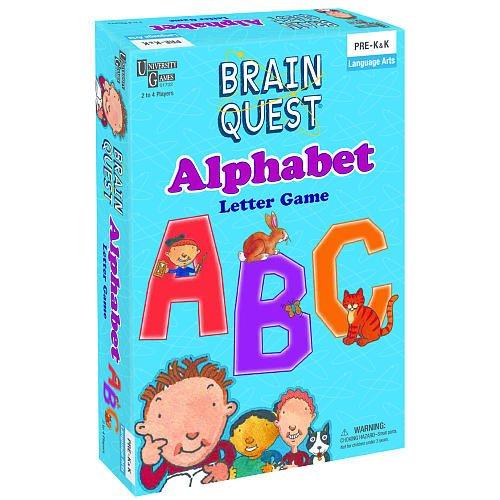 Brain Quest Play'n Learn Alphabet Card Game
