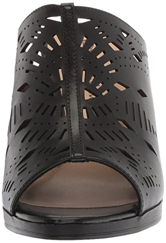 Heeled Women's Black Lark Vita Leather Sandal Bella 7qWt8xAz7