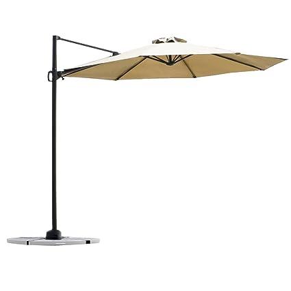 Картинки по запросу C-Hopetree Deluxe Square Offset Cantilever Outdoor Patio Umbrella