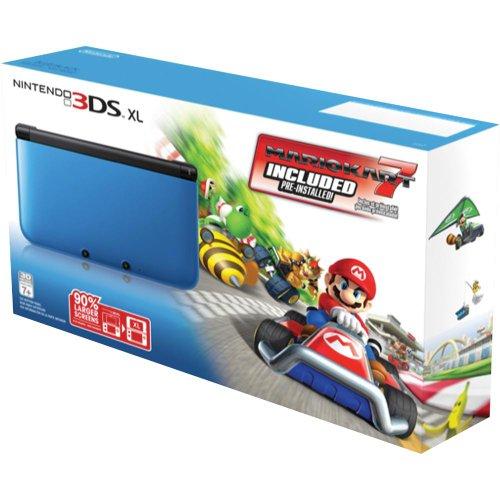 Nintendo 3DS XL Black Mario Pre Installed